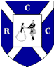 Camberley St Andrew's shield and dancers logo